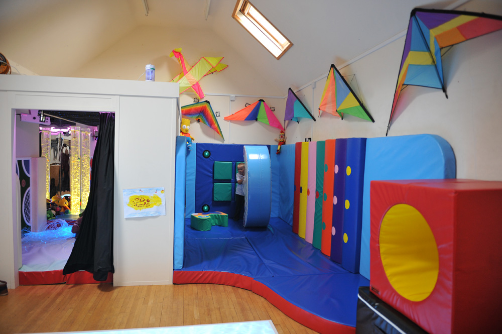 The Sensory Room And The Soft Play Area Rompa Blog
