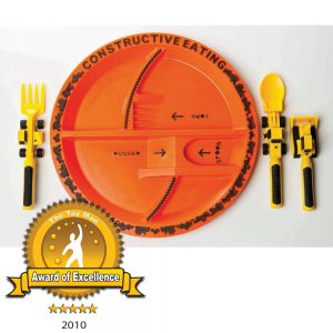 Construction Cutlery Plate