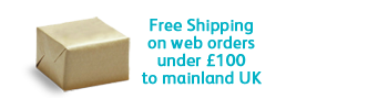 Free Shipping on orders under £100