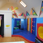 The Sensory Room and the Soft Play Area