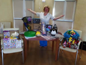 Rompa Donations to Chernobyl Children's Hospital