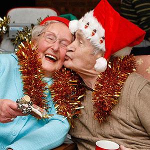 Elderly Christmas