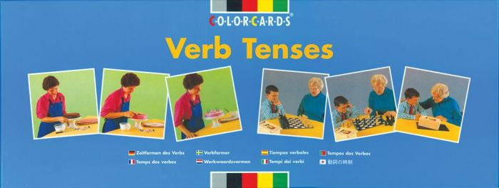 ColorCards Verb Tenses