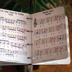 Music Book, 4 pages, Surface Fix