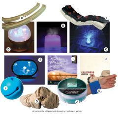 Green Light to Relaxation for Blue Light – Stress Relief Saver Pack