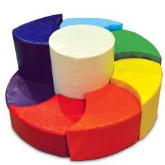 Rainbow Spiral Play Set