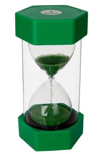 Sand Timer: Green: 1 Minute