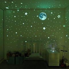 Stick and Glow Stars