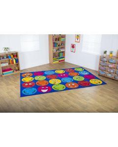 Emotions Interactive Rectangular Carpet
