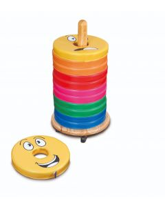 Emotions Donut Cushions with Trolley