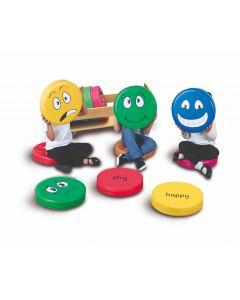 Emotion Cushions with Trolley  -  English