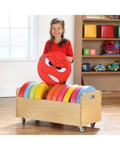 Emotion Cushions with Trolley