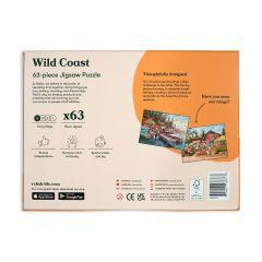 Wild Coast Puzzle - 63 Piece