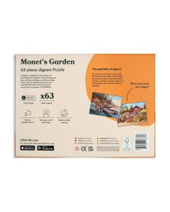 Monet's Garden Puzzle - 63 Piece