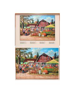 Farmers Market Puzzle - 63 Piece