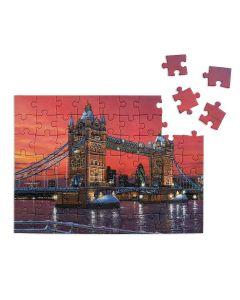 City Dusk Puzzle - 63 Piece