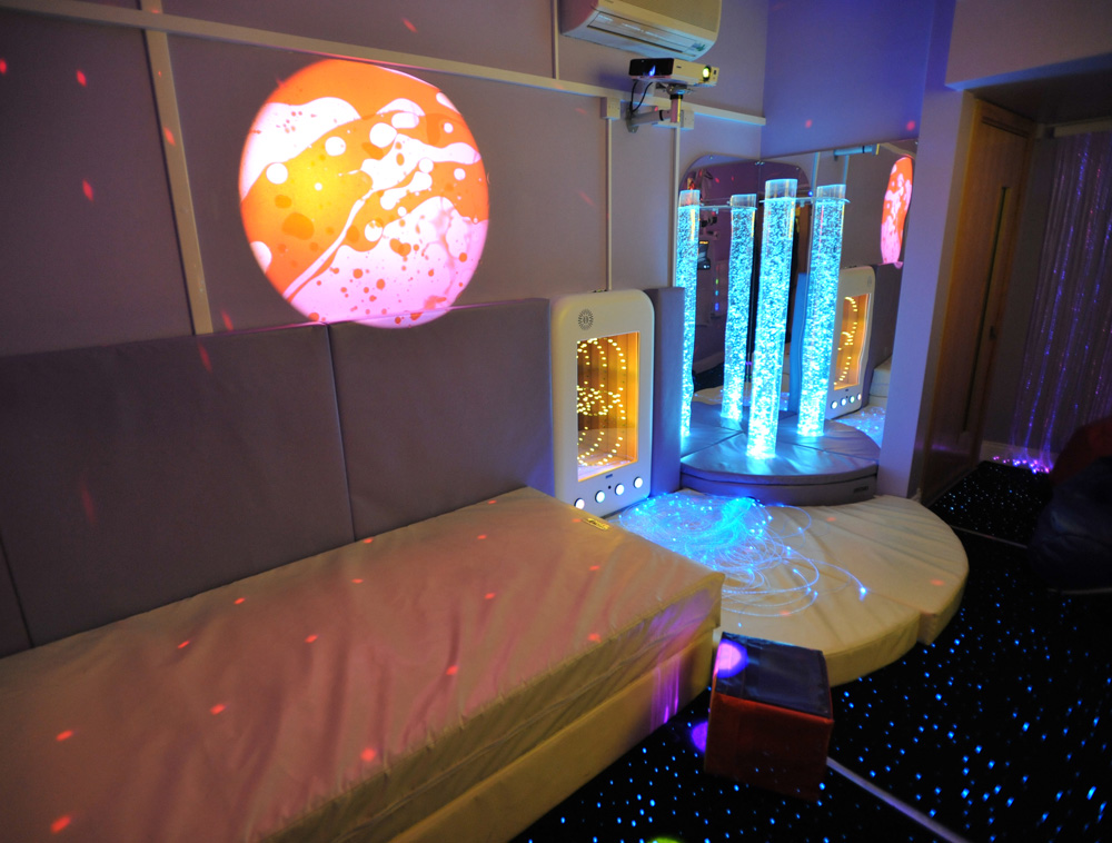 alan shearer centre sensory room