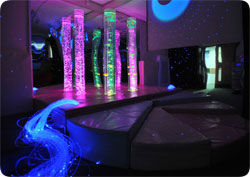 Cwm Golau Integrated Children's Centre Sensory Room