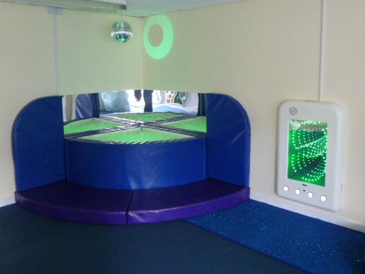 Easington Colliery Primary School Sensory Room Snoezelen