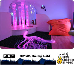 The Yard - BBC Children in Need Sensory Room