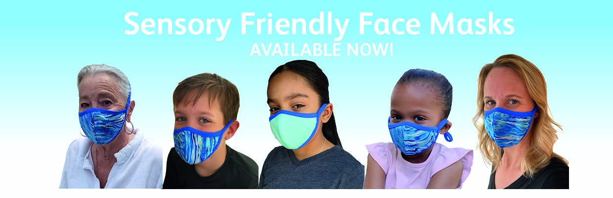 Sensory Friendly Face Masks