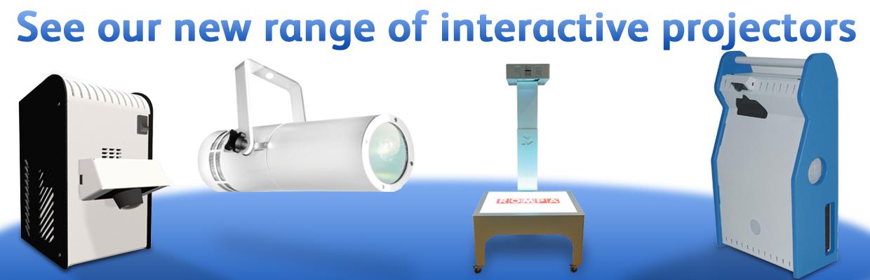 Interactive Sensory Room Projectors